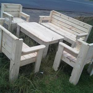 Wooden furniture garden furniture