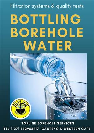 Bottling or Distributing Borehole Drink Water in Gauteng