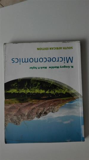 Text Book Microeconomics South African Edition, used for sale  Pretoria - Pretoria East