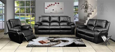 ATOZFURN 6 Seater Suite with Single Recliner