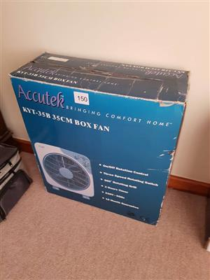 Accutek box fan for sale