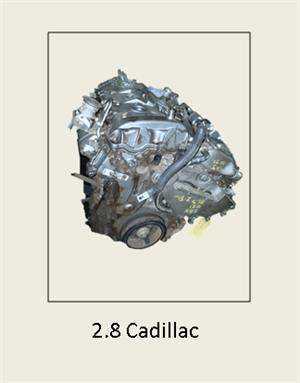 2.8 CADILLAC Engine