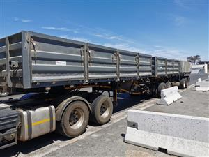 2014 Trailord dropside tipper