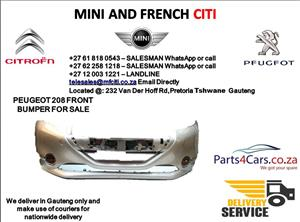 Peugeot 208 bumper for sale