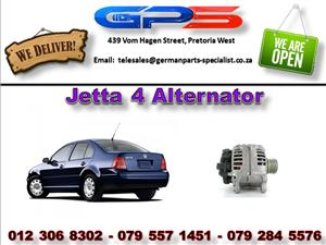 VW Jetta 4 Alternator Used Part for Sale