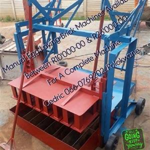 Manual Egg Laying Brick Machines Available