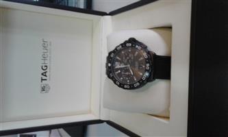 Tag Heuer Formula 1 watch (Black)