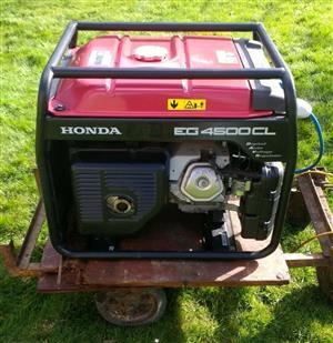 Honda EG4500CL Petrol Generator