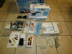 Brother Embroidery Sewing Machine HE1