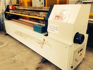 Plate Rolling Machine, Cap: 2500mm x 6mm, Pinch Roller, Brand New
