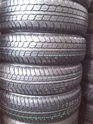 225/70/17C Dunlop A/ T tyres