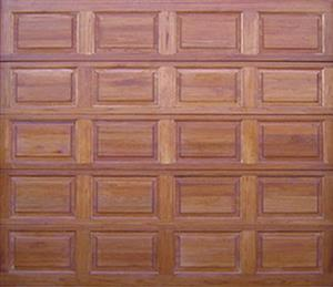 Garage Door : WOODEN GARAGE DOOR (SINGLE)