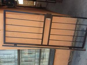 Burglar security bars for both door and window