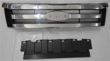 FORD RANGER T6 2012 ONWARDS BRAND NEW FRONT CHROME GRILLES FOR SALE PRICE:R1150