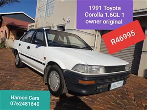 1991 Toyota Corolla 1.6 Sprinter