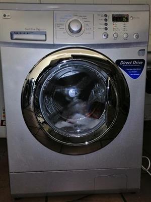 LG direct drive front loader washing machine