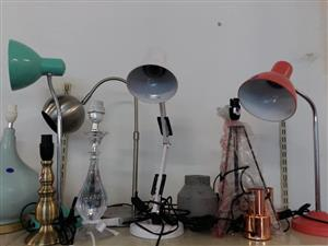 3 Working desk lamps for sale
