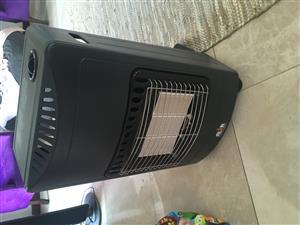 Alva gas heater with gas bottle