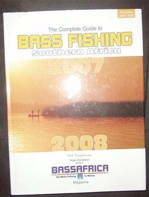 Bass Fishing in SA - A complete guide -Hard Cover book