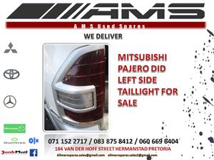 PAJERO DID LEFT SIDE TAILLIGHT