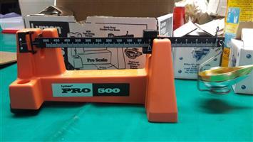 Lyman Pro 500 Magnetic Powder Scale