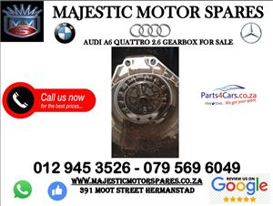 Audi A6 gearbox for sale