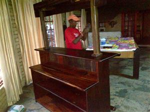 Sleeper wooden bar for sale