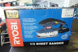 180W 1/3 Sheet Sander
