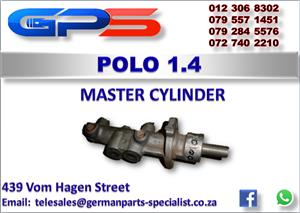 VW Polo 1.4 Master Cylinder Used Part for Sale