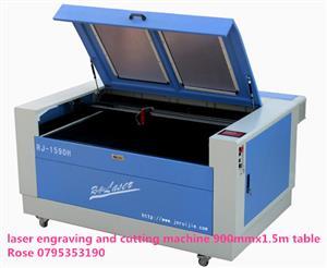 RJ1590 Laser engraving and cutting machine 1.5mx0.9m