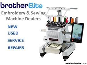 Embroidery machine & Sewing Machine Dealers - Sales, Service & Repairs to all machines