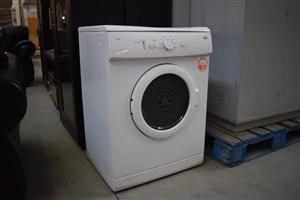 White Defy tumble dryer
