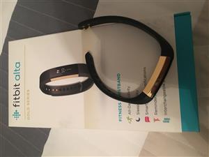 Fitbit Alta GOLD LTD EDITION fitness tracker
