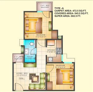 2BHK  Flat for Sale in Dohra Road Bareilly - Jeevan Aadhar