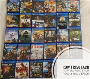 PS4 / Playstation 4 Games