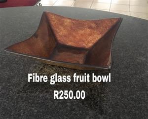 Fibre glass fruit bowl for sale
