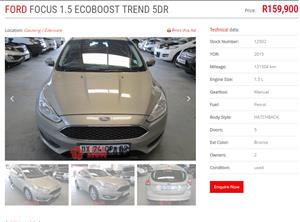2015 Ford Focus sedan 1.5TDCi Trend