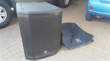 JBL prx 618xlf sub with jbl padded cover