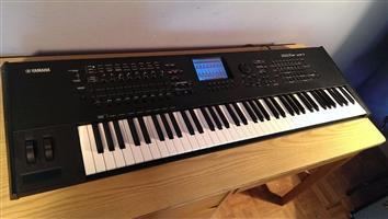 yamaha motif xf7 keyboard