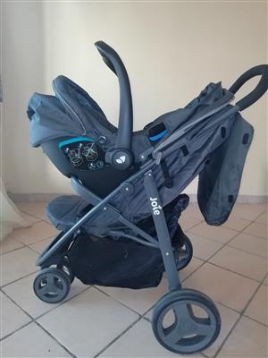 Joie baby stroller with car seat for sale
