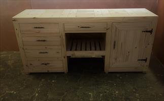 Kitchen Cupboard Base unit Farmhouse series 2000 Version 2 - Raw