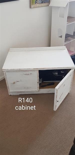 White cabinet for sale