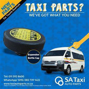 New Expansion Coolant Bottle Cap for Toyota Quantum - SA Taxi Auto Parts quality spares