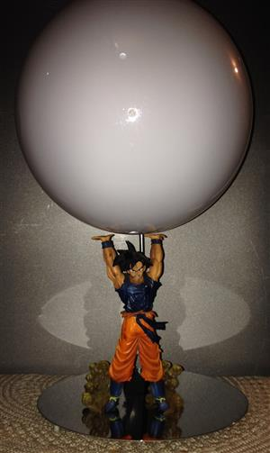 Dragon ball z Goku Spirit Bomb Lamp Lamplanet