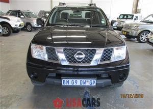 2011 Nissan Navara 2.5dCi double cab 4x4 XE