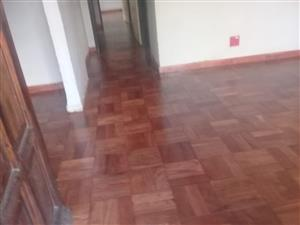 Parquet floor carefully removed from my house
