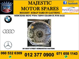 Mercedes benz w204 722908 gearbox for sale