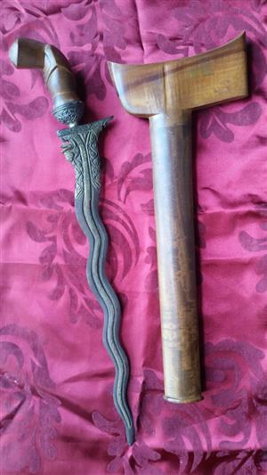 Traditional Malay 'Kris' Dagger - PRICE REDUCED!