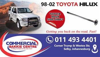 toyota hilux side shaft