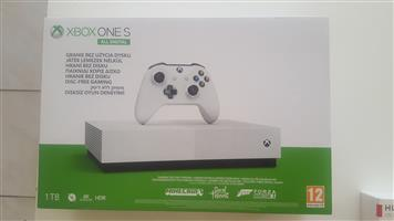 Microsoft Xbox One S 1TB+3 Games